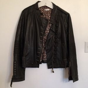 Jackets & Blazers - Highly Detailed Leather Jacket
